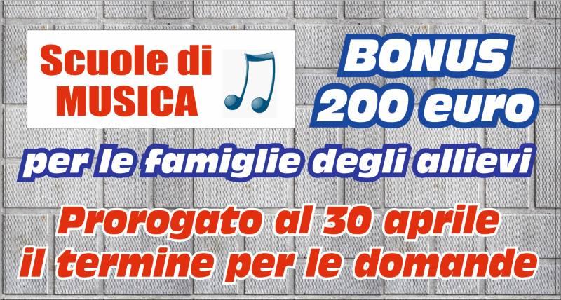 BONUS 200 euro – aggiornamento