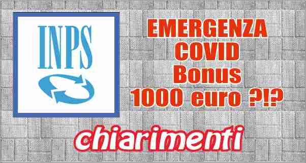 COVID Bonus 1000 euro
